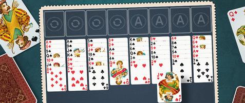 Пасьянс- простой расклад старинной магии карт