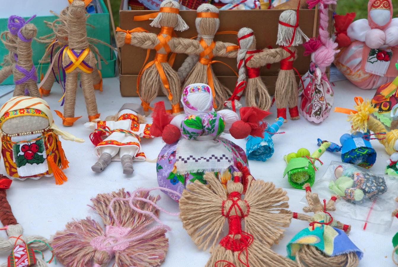 Славянские куклы обереги - защитницы рода
