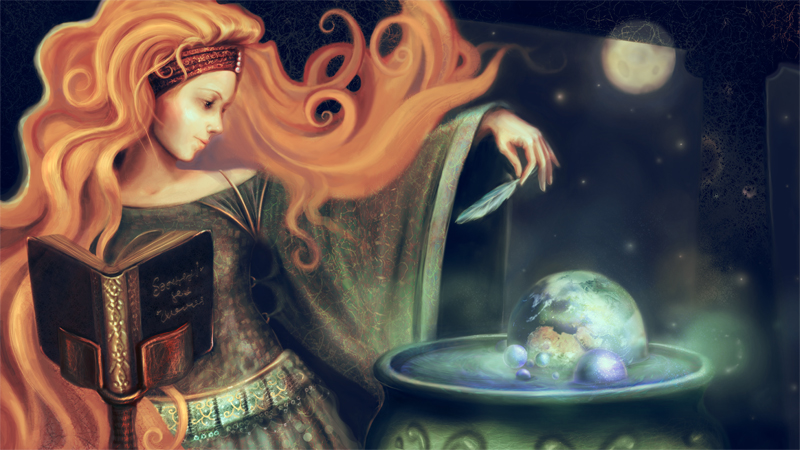 Женская магия — ключ к счастью