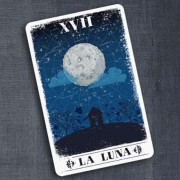 Годовой расклад на лунных картах
